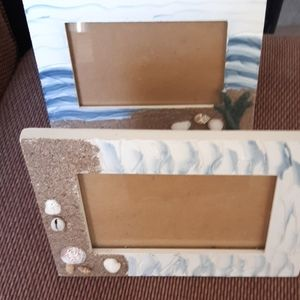 sea shell picture frame's